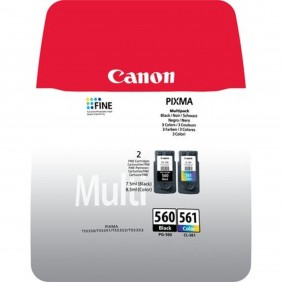 Multipack canon pg - 560 + cl - 561-Ref:3713C006