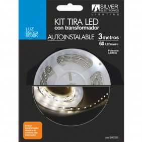 Kit tira led silver electronics 300-Ref:240350
