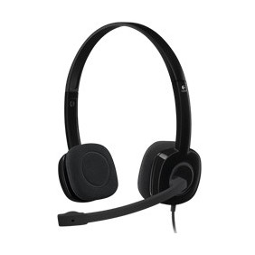 Auriculares con microfono logitech headset h151-Ref:981-000589