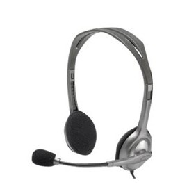 Auriculares con microfono logitech headset h111-Ref:981-000593