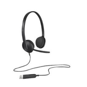 Auriculares con microfono logitech headset h340-Ref:981-000475