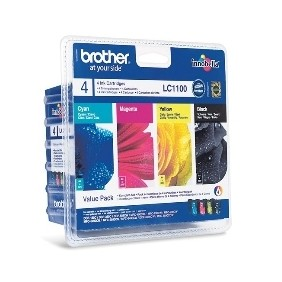 Multipack brother lc1100valbp dcp385 585 j615w - - Ref: LC1100VALBP
