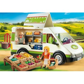 Playmobil campo mercado movil-70134Ref:MGS0000000393