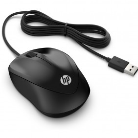 Mouse raton hp usb 1000 negro-4QM14AARef:MGS0000000650