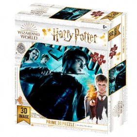 Puzzle 3d lenticular harry potter harry-Ref:MGS0000001559