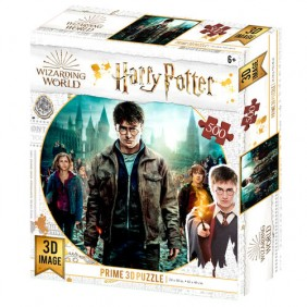 Puzzle 3d lenticular harry potter harry-Ref:MGS0000001560