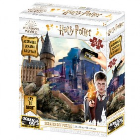 Puzzle rascar harry potter hogwarts dia-Ref:MGS0000001545