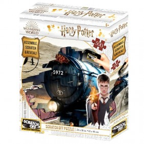 Puzzle rascar harry potter hogwarts express-Ref:MGS0000001547