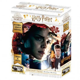 Puzzle rascar harry potter hermione 150-Ref:MGS0000001549
