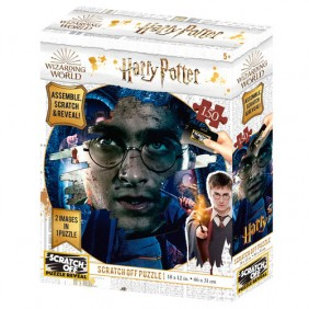 Puzzle rascar harry potter harry potter - - Ref: MGS0000001553