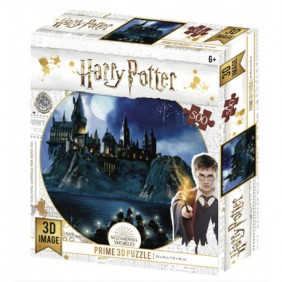Puzzle 3d lenticular harry potter hogwarts - - Ref: MGS0000001499
