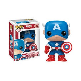 Funko pop bobble marvel capitan america-Ref:2224