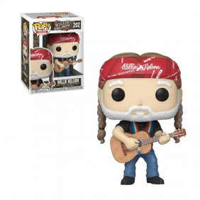 Funko pop rocks willie nelson 49281-49281Ref:MGS0000001643