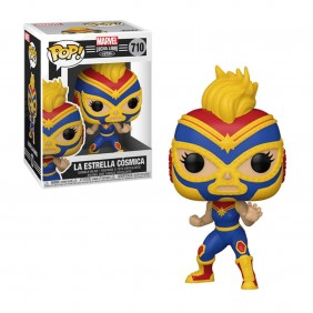 Funko pop marvel luchadores capitana marvel-53872Ref:MGS0000001668