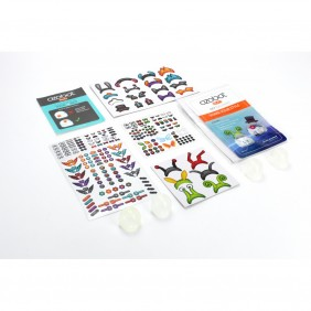 Pack ozobot pegatinas accesorios evo - - Ref: DSP0000000905