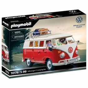 Playmobil campo volkswagen t1 camping bus-70176Ref:DSP0000001786
