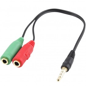 Cable adaptador audio ewent jack 3.5mm-EC1640Ref:MGS0000001816
