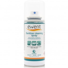 Spray desinfectante ewent ew5676 superficies 400ml-EW5676Ref:MGS0000001834