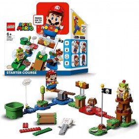 Lego pack inicial nintendo aventuras con-71360ARef:MGS0000002275