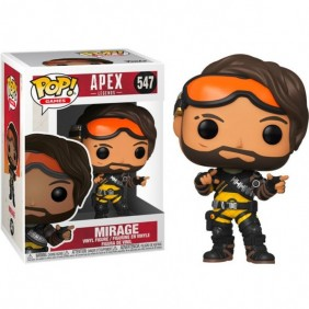 Funko pop videojuegos apex legends mirage-43284Ref:MGS0000001962