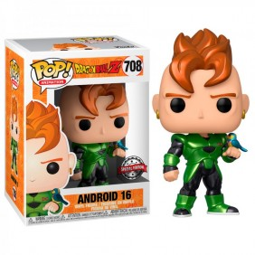 Funko pop dragon ball z androide - 39946- Ref: MGS0000002490