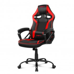 Silla gaming drift dr50 black red-DR50BRRef:MGS0000000773