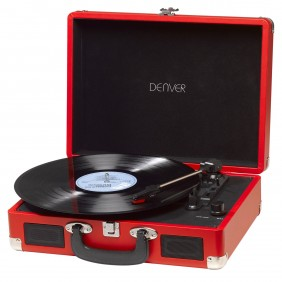 Tocadiscos denver vpl - 120 usb con software-Ref:VPL-120RED