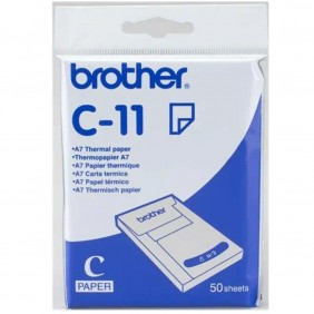 Pack papel termico brother c11 a7 - C11- Ref: MGS0000002982