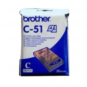Pack papel termico brother c51 a7 - C51- Ref: MGS0000002983