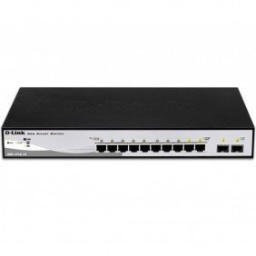 Switch d - link 10 puertos gestionable 8 - DGS-1210-10- Ref: MGS0000003253
