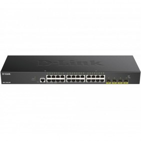 Switch d - link 28 puertos gestionable 24 - DGS-1250-28X- Ref: MGS0000003265