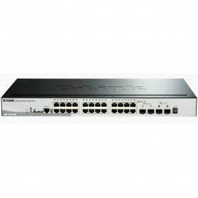 Switch d - link 28 puertos gestionable 24 - DGS-1510-28P- Ref: MGS0000003271