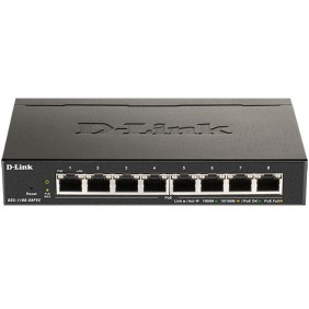 Switch d - link 8 puertos gestionable easysmart - DGS-1100-08PV2- Ref: MGS0000003242
