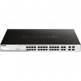 Switch d - link 28 puertos gestionable 24 - DGS-1210-28MP- Ref: MGS0000003258
