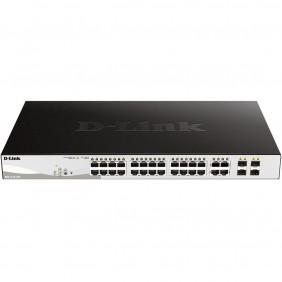 Switch d - link 28 puertos gestionable 24 - DGS-1210-28P- Ref: MGS0000003259