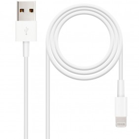 Cable nanocable usb 2.0 a iphone - 10.10.0402- Ref: MGS0000001480