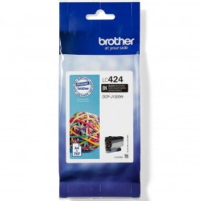 Cartucho tinta brother lc424bk negro 750 - LC424BK- Ref: MGS0000003777