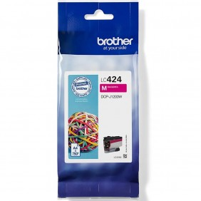 Cartucho tinta brother lc424m magenta 750 - LC424M- Ref: MGS0000003779