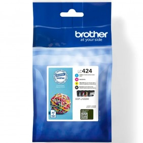 Pack cartuchos tinta brother lc424val negro - LC424VAL- Ref: MGS0000003782