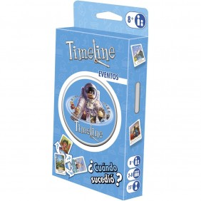 Juego mesa asmodee timeline blister: eventos - TIMEECO02ES- Ref: MGS0000004095