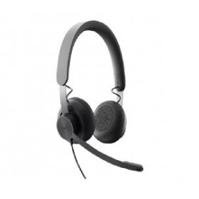 Auriculares con microfono logitech zone wired - - Ref: 981-000875