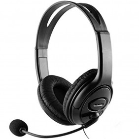 Auriculares con microfono coolbox coolchat usb - - Ref: COO-AUM-01U