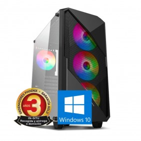 Ordenador phoenix gaming rgb therion intel - THERION-C21W- Ref: MGS0000004689