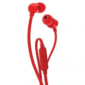 Auriculares intrauditivos jbl t110 red pure - - Ref: JBLT110RED